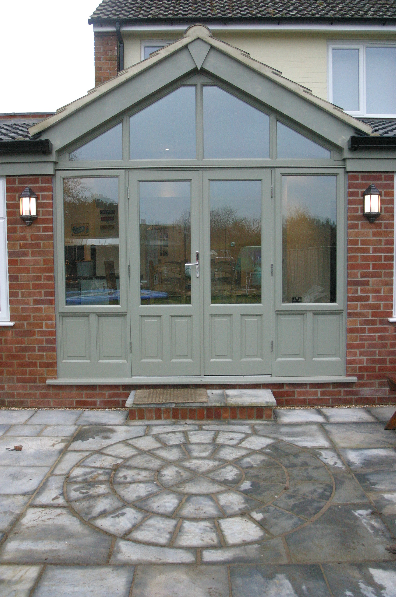 Garden rooms project 2 heritage orangeries for Hardwood french doors