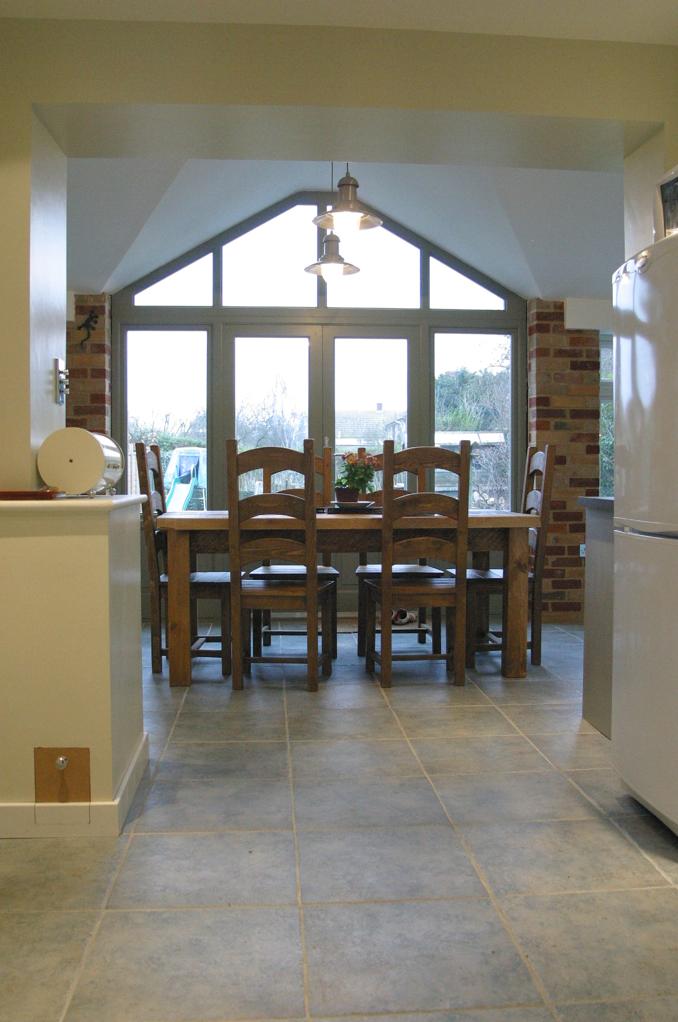 Kitchen extension project 6 heritage orangeries for Garden room extension interior