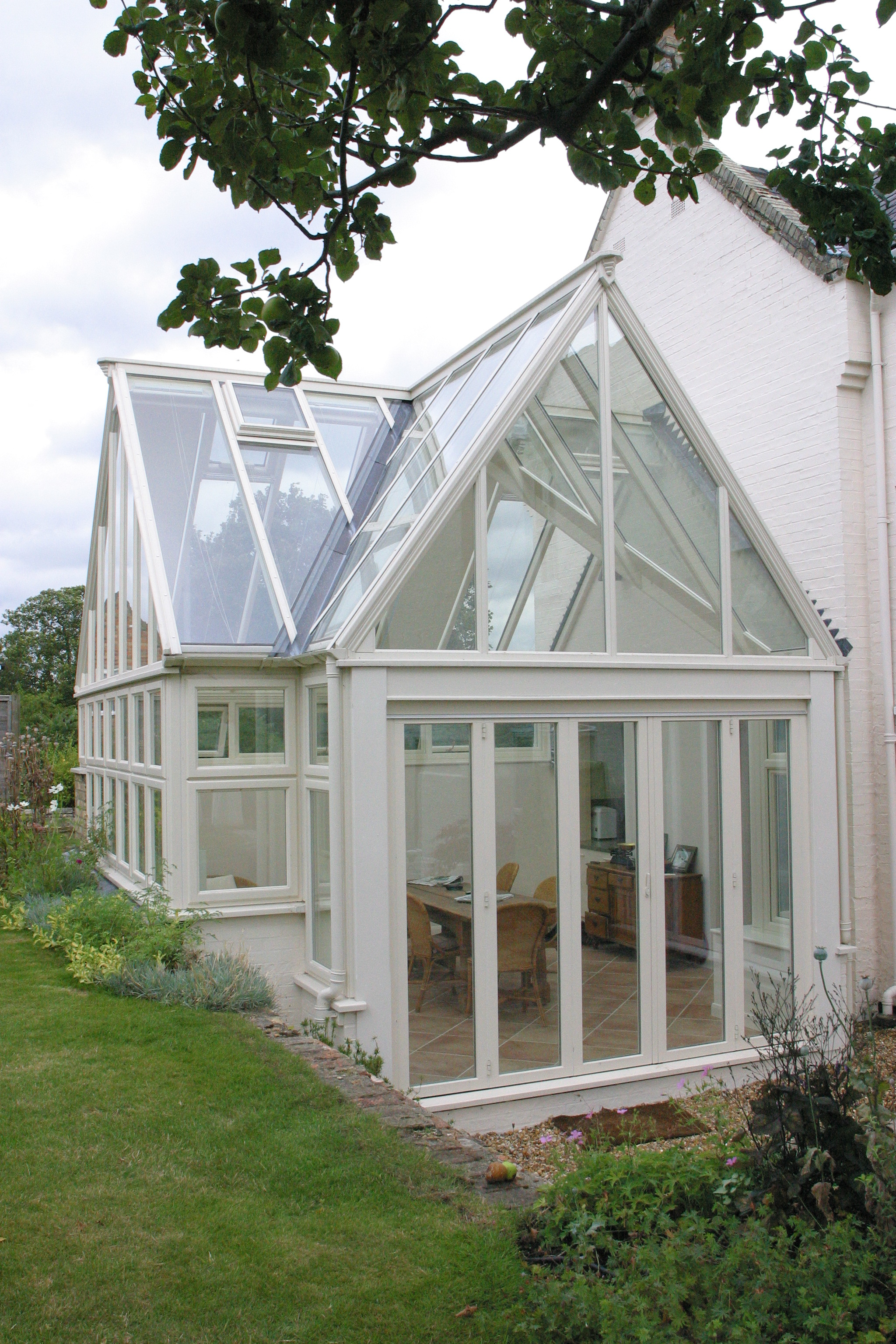 Hardwood conservatories project 2 heritage orangeries for Conservatory doors exterior