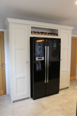 kitchen extension fridge freezer