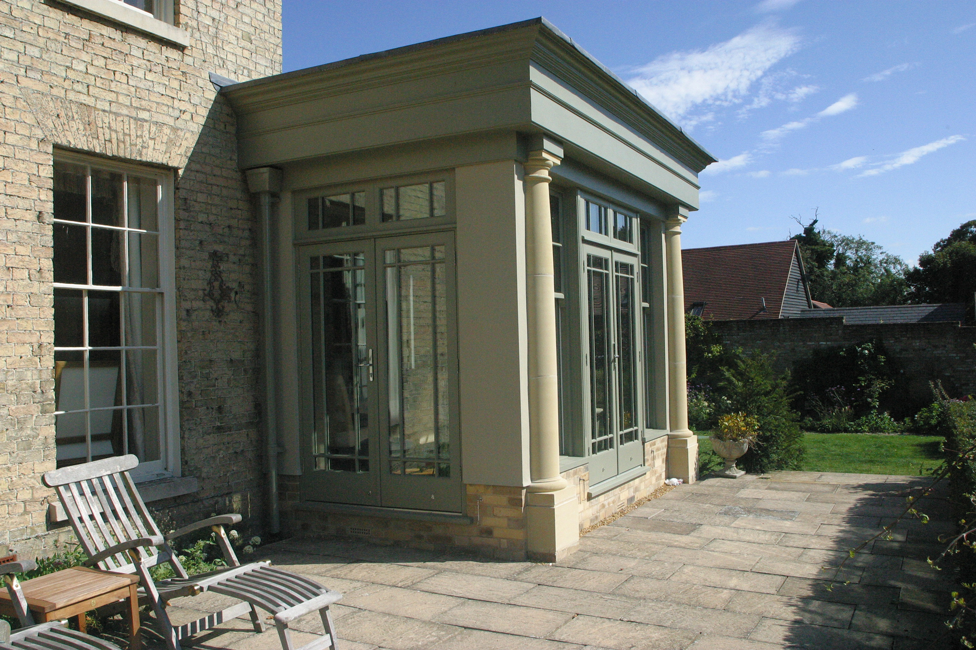 patio extensions 2. Orangery-from-patio-2 Patio Extensions 2